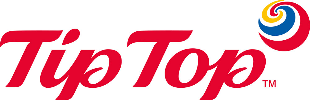 Tip Top Logo NZ 2020